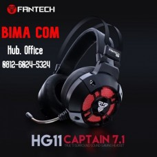 HEADSET GAMING FANTECH HG-11CAPTAIN 7.1 VIBRATION
