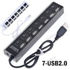 HUB I-Tech USB Port 7 Port Saklar ON/OFF