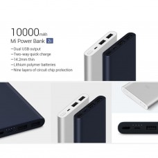 Powerbank Xiaomi 10Rb Mah Tam 2Port Usb