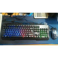 Keyboard Plus Mouse Gaming Komic Kg 8350