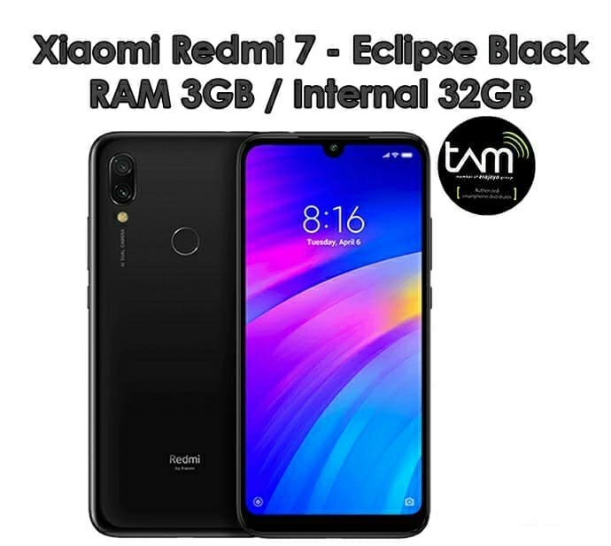 Redmi 7 TAM 3-32 Black