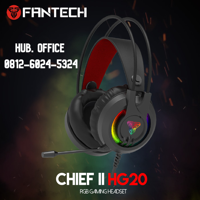 HEADSET GAMING FANTECH HG-20 CHIEF II