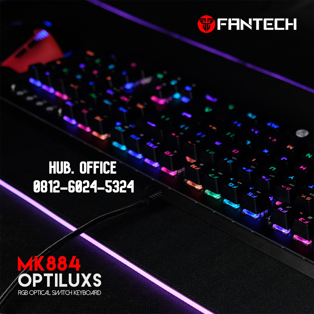 KEYBOARD GAMING FANTECH MK884RGB OPTILUXS