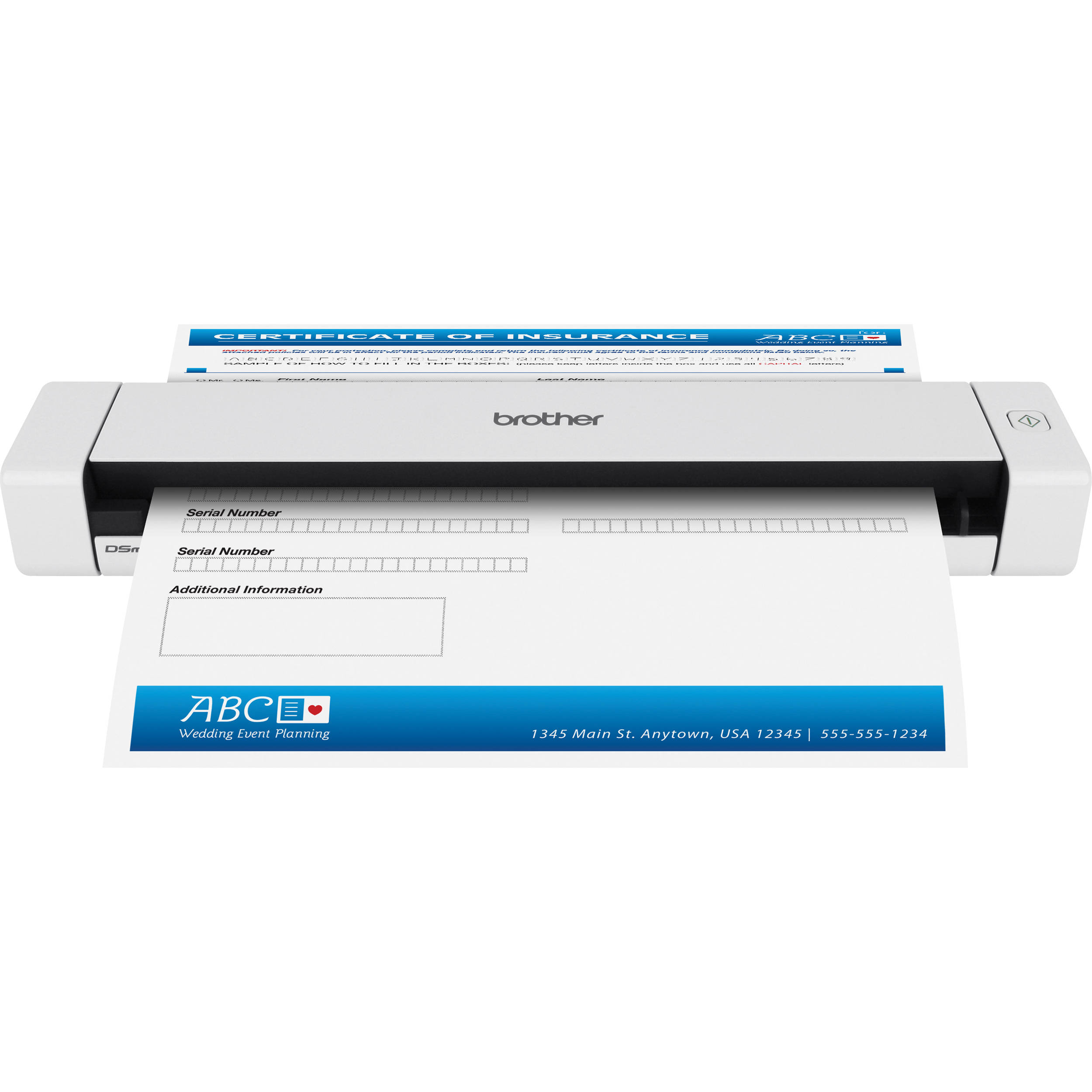 Brother Scanner ds620