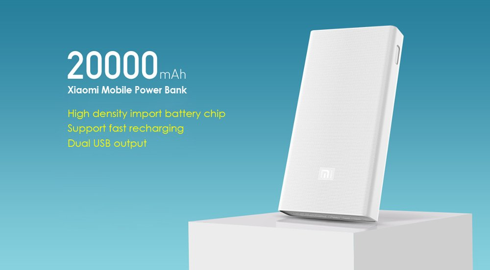 Powerbank Xiaomi 20000 mah